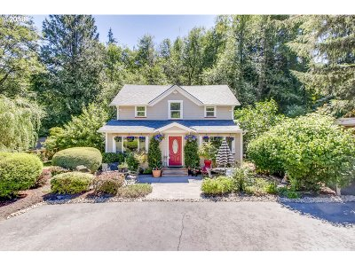 Multnomah County Single Family Home For Sale: 15230 NW Cornelius Pass Rd