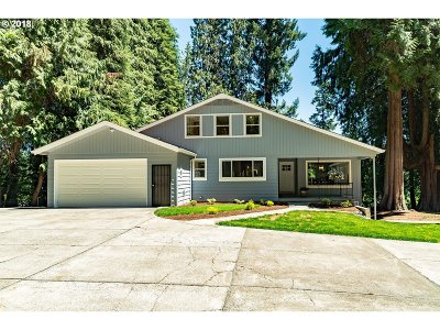 West Linn Single Family Home Bumpable Buyer: 1125 SW Borland Rd