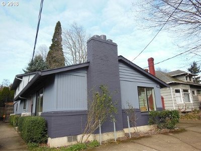 Portland OR Multi Family Home For Sale: $849,000