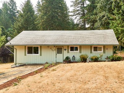 Willamina Single Family Home For Sale: 635 SW Hill Dr