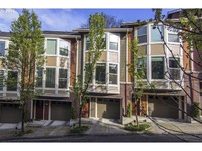 Condo/Townhouse For Sale: 4256 SW Corbett Ave