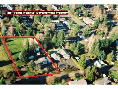 Tigard Residential Lots & Land For Sale: 14185 SW 100th Ave