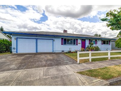 Beaverton Single Family Home For Sale: 11450 SW 12th St