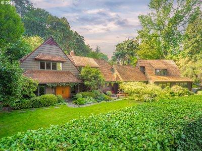 Single Family Home For Sale: 10801 SW Riverside Dr