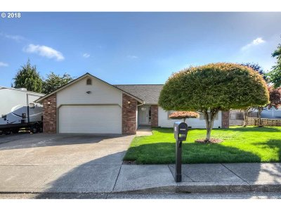 Sublimity Single Family Home Sold: 566 NE Hilltop Ct