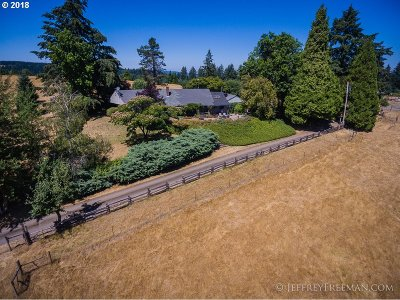 Newberg Single Family Home For Sale: 18185 SW Courtney Rd