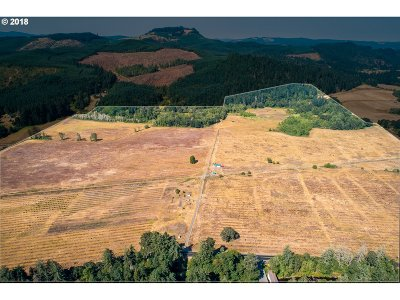 Cottage Grove, Creswell Farm & Ranch For Sale: 77401 Mosby Creek Rd