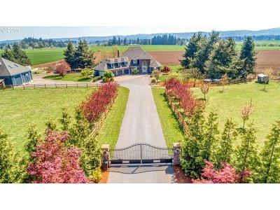 Hillsboro Single Family Home For Sale: 28630 SW Burkhalter Rd