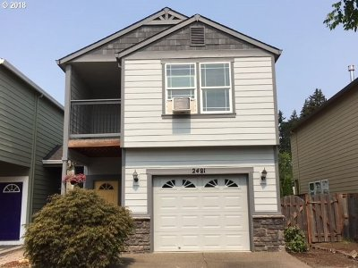 Forest Grove Single Family Home For Sale: 2481 25th Ave
