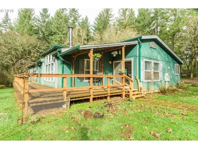 Scio Single Family Home Sold: 40634 Rodgers Mountain Loop