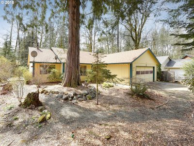 Rhododendron Single Family Home For Sale: 21510 E Hideaway Ln