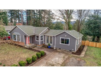 Milwaukie Single Family Home For Sale: 17323 SE River Rd