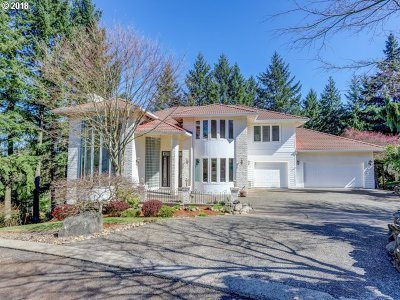 Beaverton Single Family Home For Sale: 8644 SW Ravine Dr