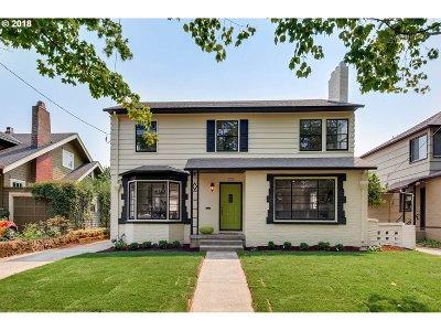 Portland Single Family Home For Sale: 3326 NE Alameda St
