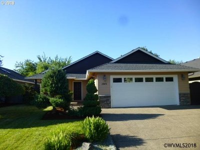 Keizer Single Family Home Sold: 1445 Prairie Clover Ave