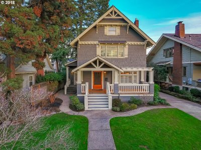 Portland Single Family Home For Sale: 2126 NE 27th Ave