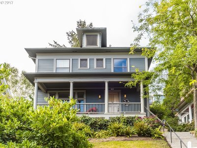 Portland Single Family Home For Sale: 3306 NW Thurman St