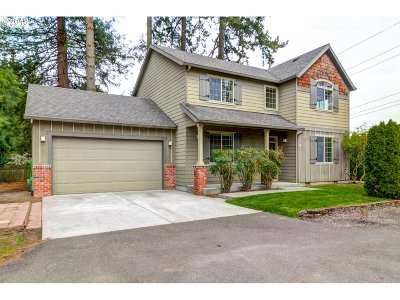 Milwaukie Single Family Home For Sale: 12113 SE River Rd