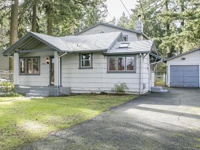 Single Family Home For Sale: 3237 SE 119th Ave