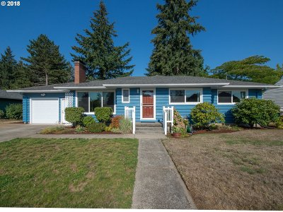 Single Family Home For Sale: 11933 SE Madison St