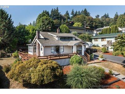 Rainier Single Family Home For Sale: 706 W B St