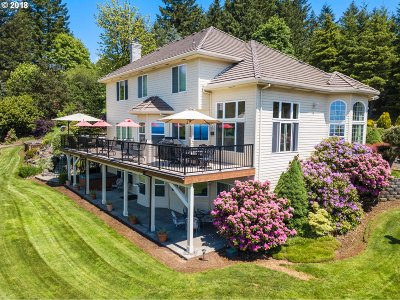 Newberg, Dundee, Mcminnville, Lafayette Multi Family Home For Sale: 22000 NE Mountain Top Rd