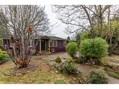 Portland Single Family Home For Sale: 4714 NE 64th Ave