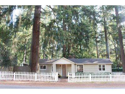 Lake Oswego Single Family Home For Sale: 16790 Lake Forest Blvd