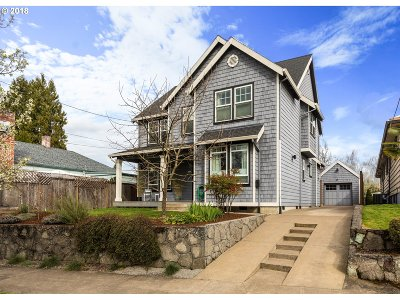 Portland Single Family Home For Sale: 3772 SE 9th Ave