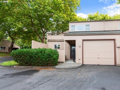 Hillsboro, Beaverton, Tigard Condo/Townhouse For Sale: 1631 NW Rolling Hill Dr