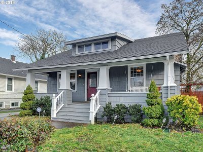 Single Family Home For Sale: 6412 SE 89th Ave