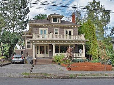 Multnomah County, Clackamas County, Washington County Single Family Home For Sale: 1425 SW Harrison St
