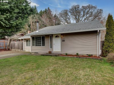 Aloha Single Family Home For Sale: 17905 SW Vincent St