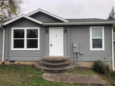 Willamina Single Family Home For Sale: 321 SW James St