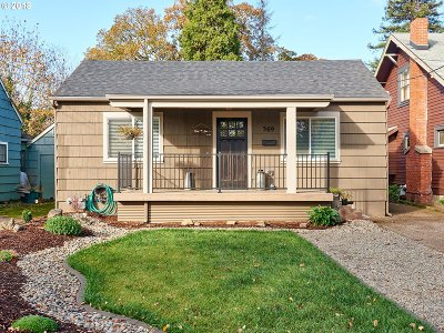 Salem Single Family Home Sold: 569 Statesman St NE