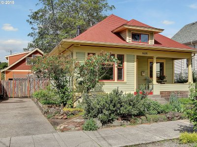 Multnomah County Single Family Home For Sale: 4217 NE 7th Ave