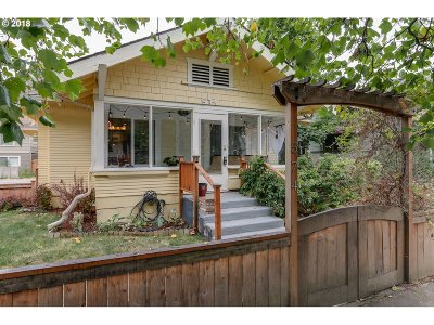 Eugene Single Family Home For Sale: 574 W 13th Ave