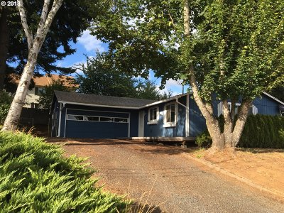 Willamina Single Family Home For Sale: 414 NW 5th St