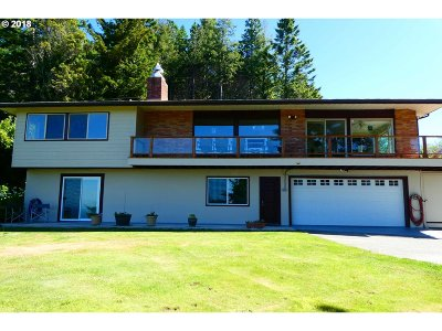 Port Orford Single Family Home For Sale: 37163 Arizona Ranch Rd