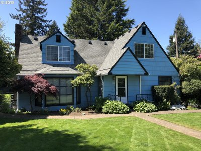 Single Family Home For Sale: 4731 NE 60th Ave