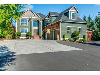 Ridgefield Single Family Home For Sale: 3411 NW 217th Way
