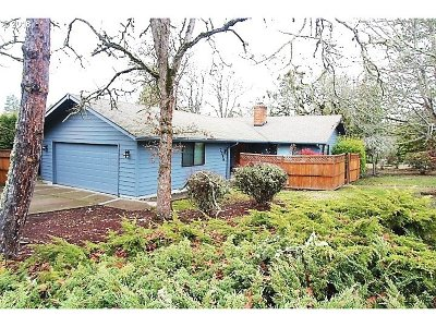 Eugene Single Family Home For Sale: 2396 Hawkins Ln