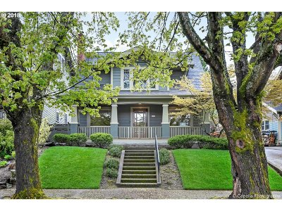 Clackamas County, Multnomah County, Washington County Single Family Home For Sale: 3121 NE 12th Ave