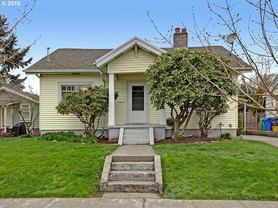 Portland Single Family Home For Sale: 7145 N Greeley Ave