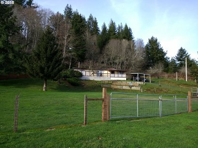 Coos Bay Single Family Home For Sale: 63140 Ross Inlet Rd