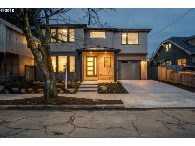 Single Family Home For Sale: 6314 SE 21st Ave