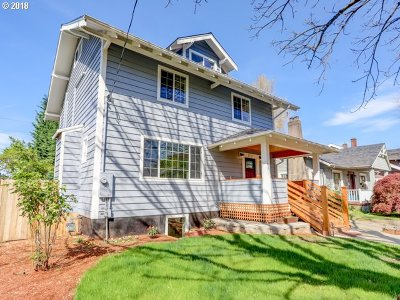 Single Family Home For Sale: 3711 NE Senate St