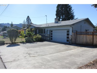 Sutherlin Single Family Home For Sale: 317 Mardonna Way