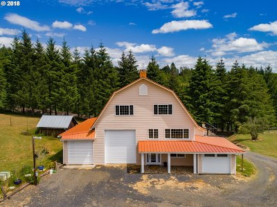 Forest Grove Single Family Home For Sale: 14704 NW Orchardale Rd