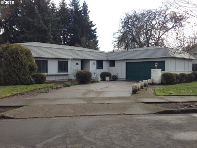 Eugene Single Family Home For Sale: 2717 Wingate St